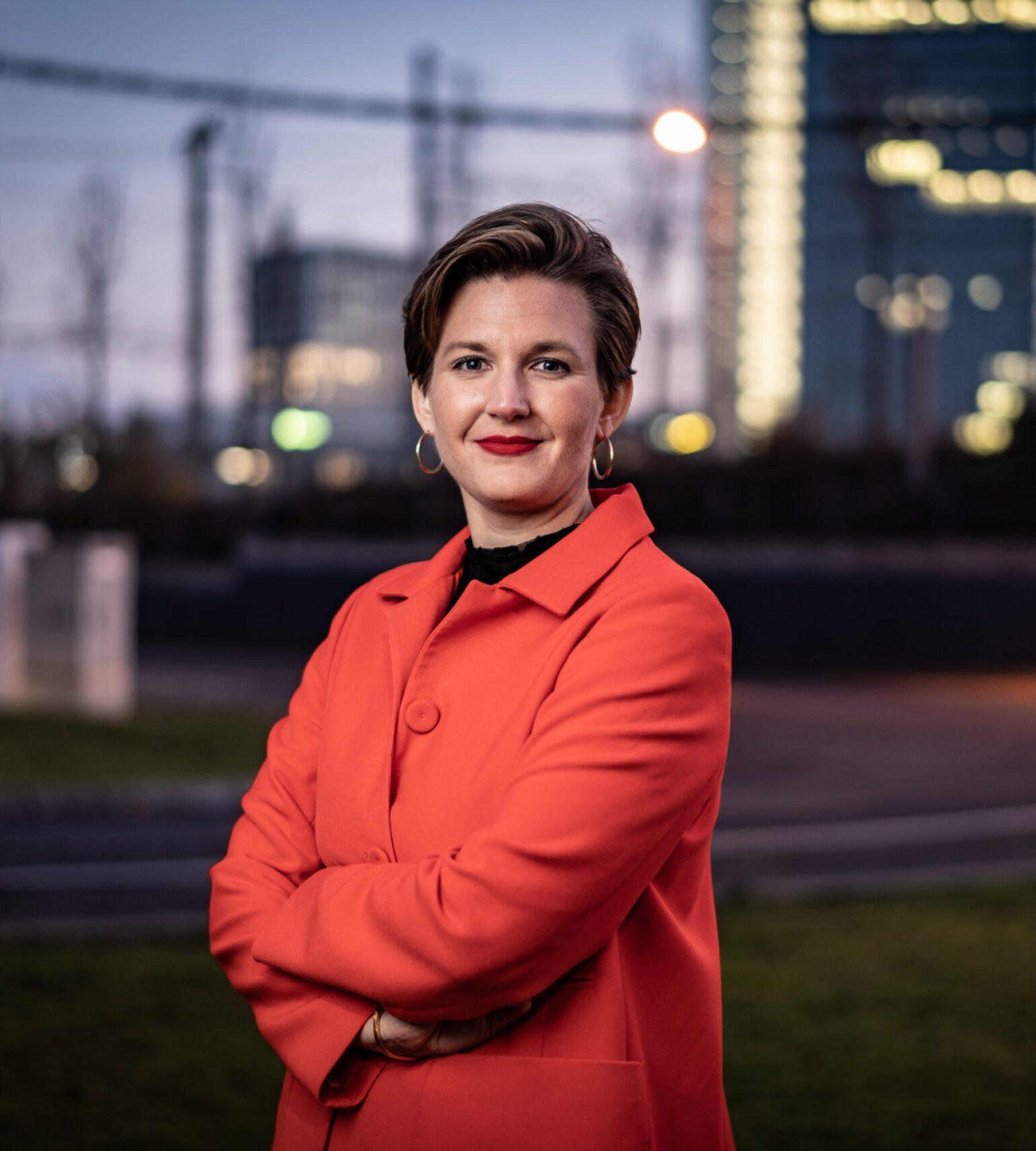 Dr. Simone Burel, LUB Linguistische Unternehmensberatung in Mannheim. photo © Peter Jülich / Agentur Focus